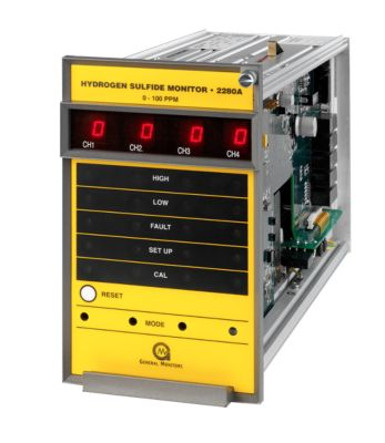 2280A Four Channel H2S Gas Monitor